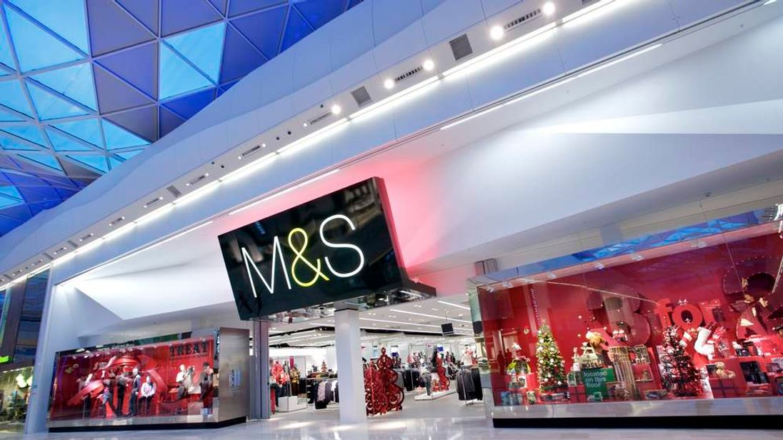 Westfield's Marks and Spencer store in London