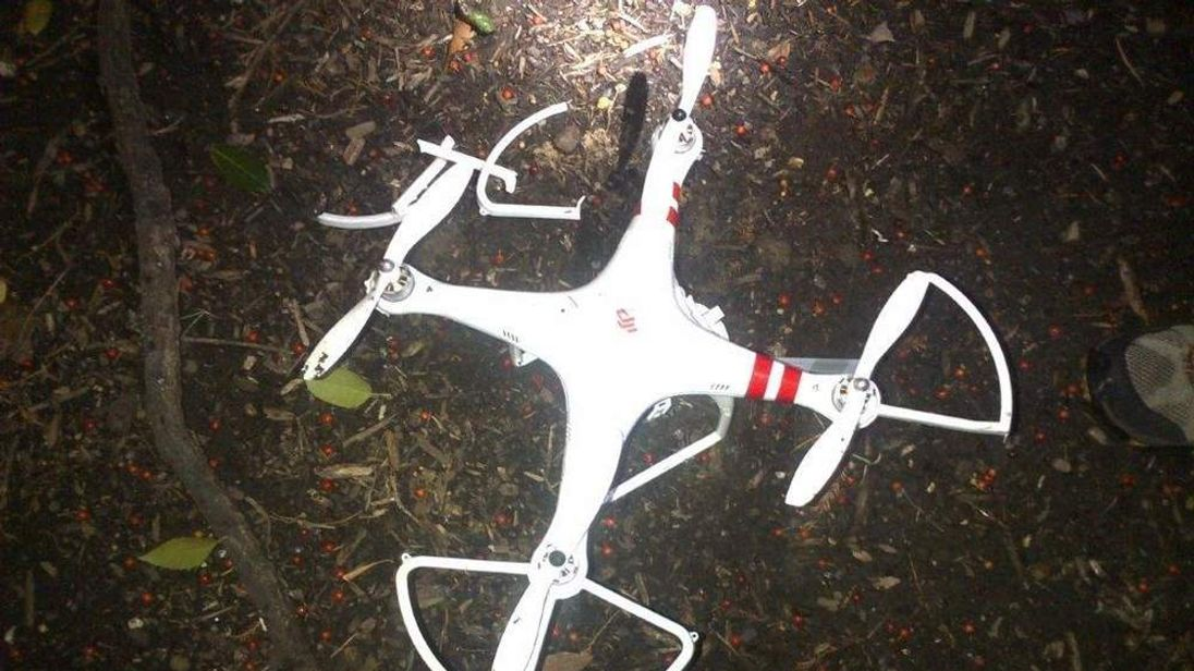 Drone which landed in White House grounds