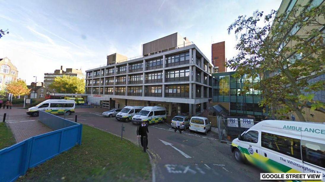 Google Street View image of Whittinton Hospital in London