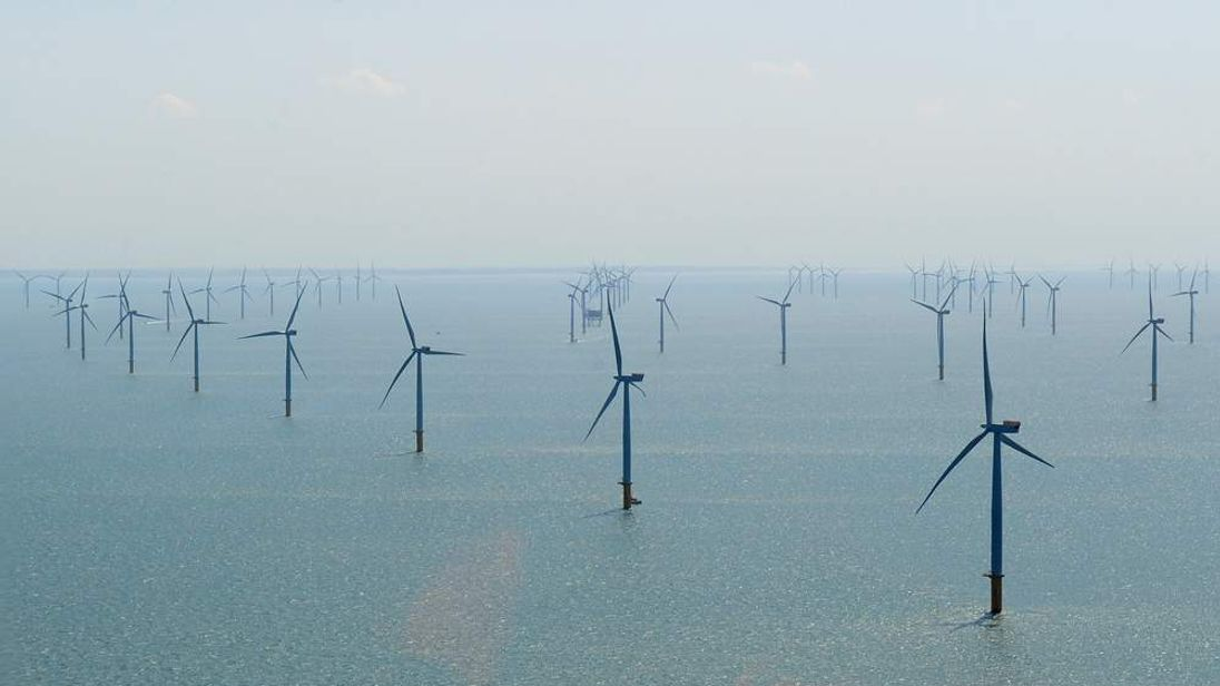 Nick Clegg Opens Offshore Wind Farm