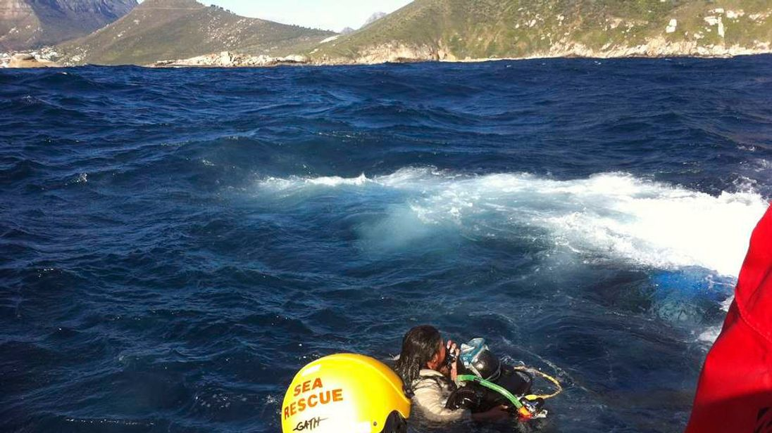 Rescue operation after tour boat capsizes off Cape Town