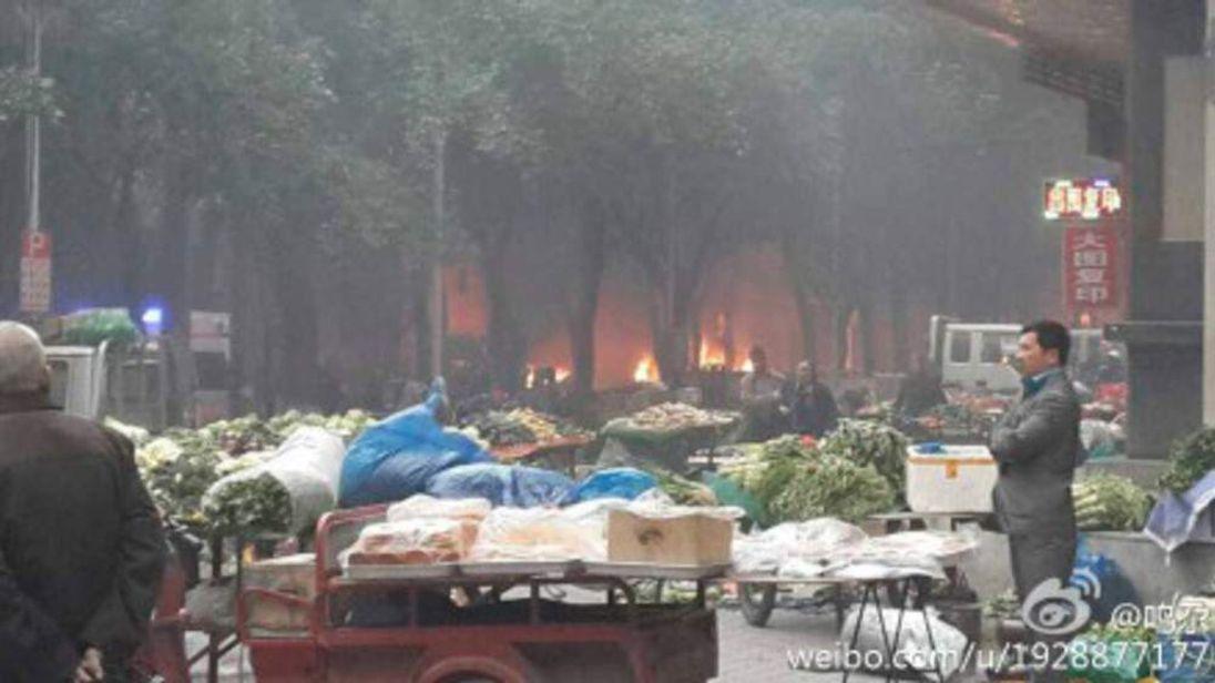 China Market Blast Attack Xinjiang