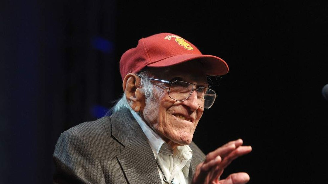 030714 $$ Louis Zamperini: US Olympian And WW2 Hero Dies