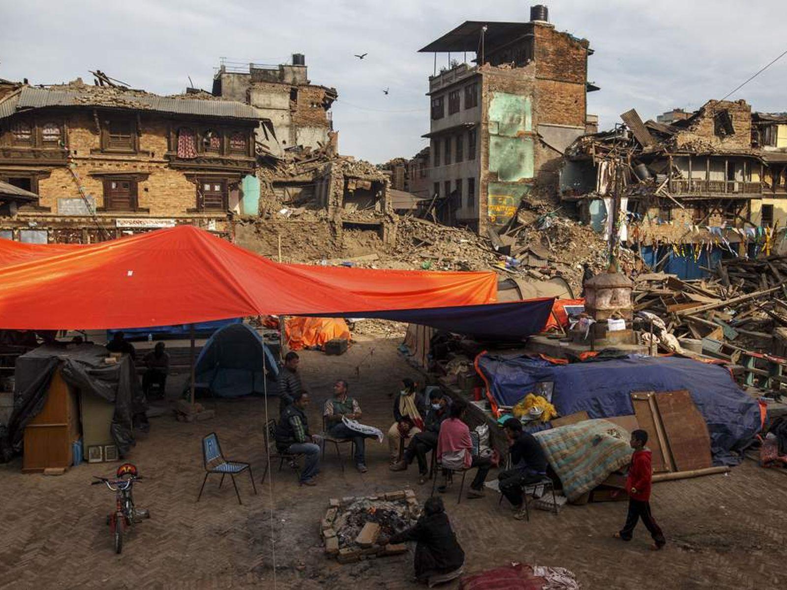 earthquake riks and schools in kathmandu