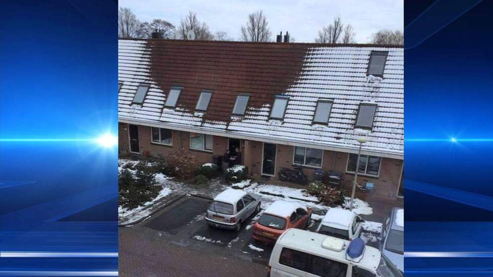 Melting Snow Helps Police Spot Cannabis Dens