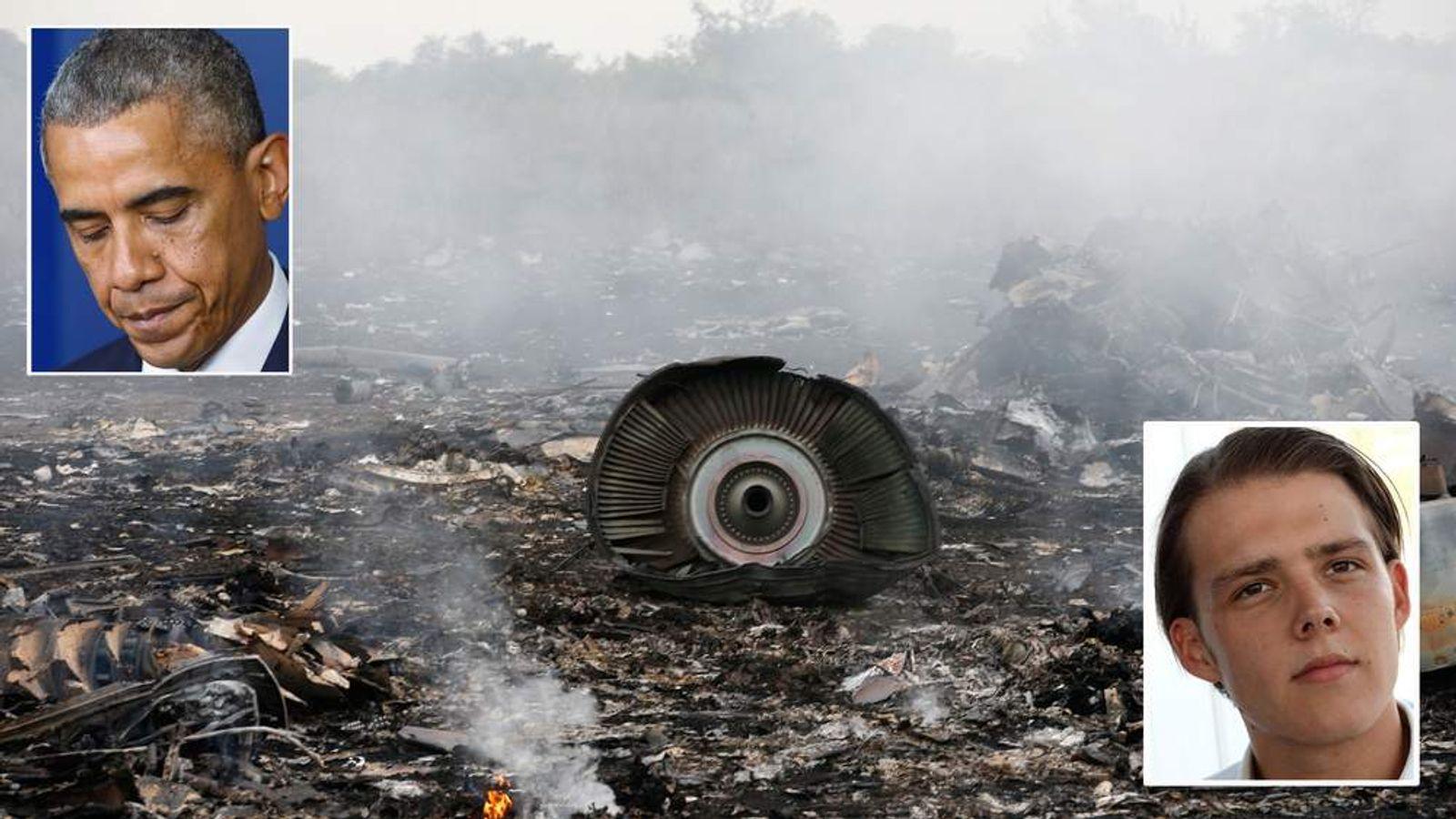 Ukraine Plane Crash An Unspeakable Outrage Us News