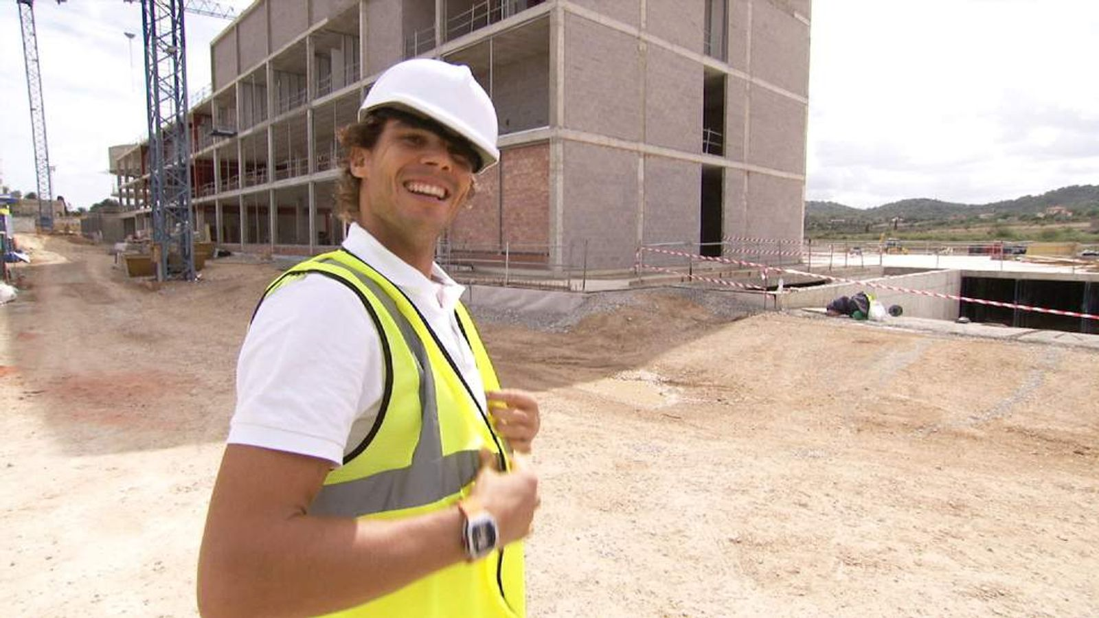 At Home With Nadal - And A Peek At His New Project