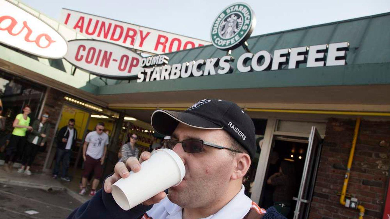 Dumb Starbucks' Shop Opened In Los Angeles | US News | Sky News