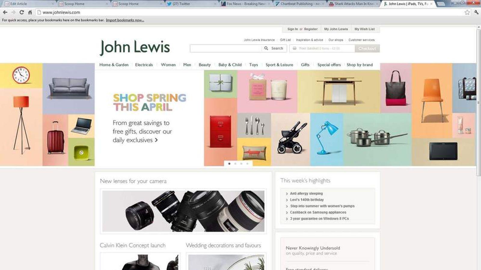 John Lewis Reaches £1bn Annual Web Sales