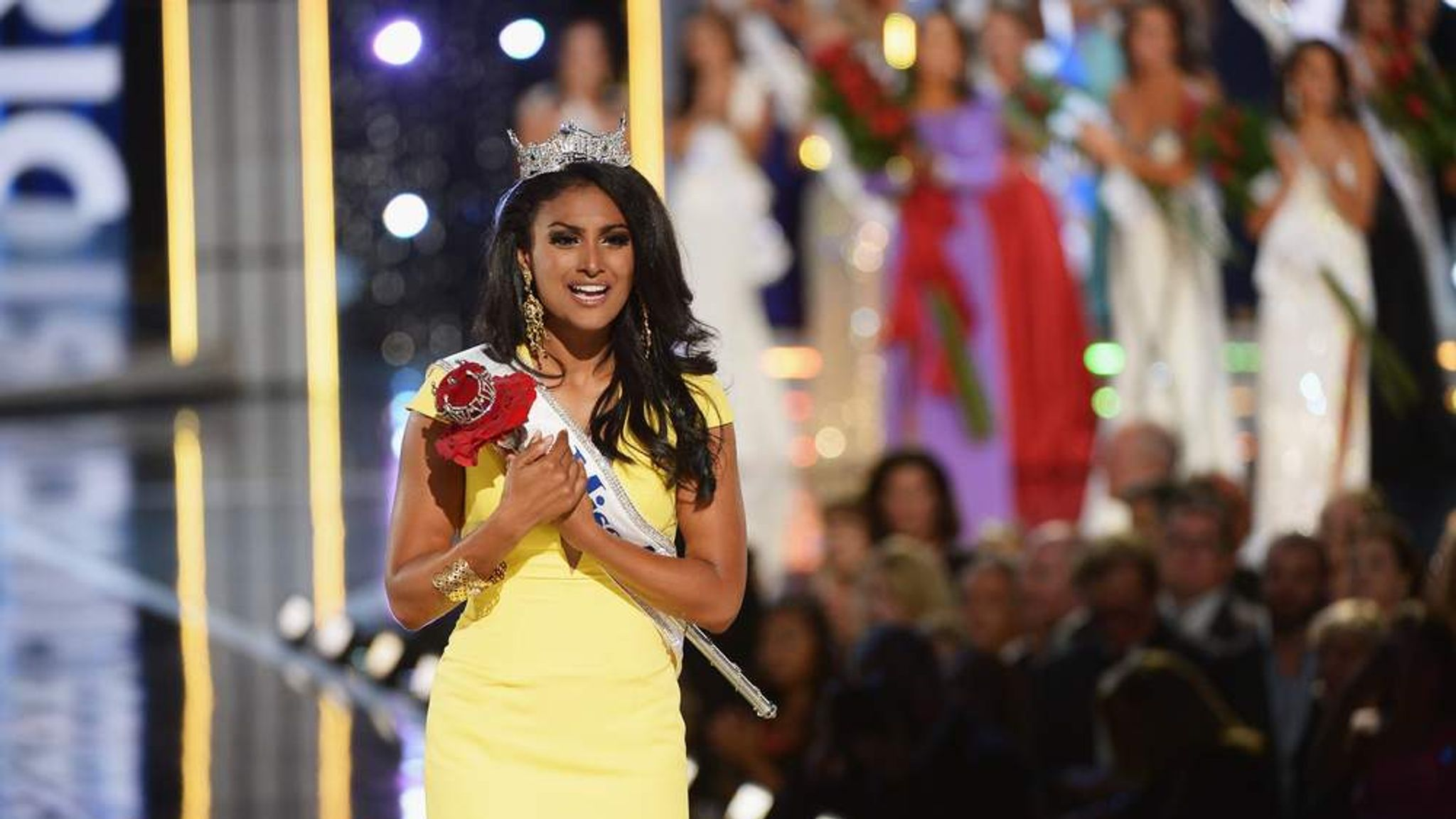 American Idiots 2013 miss america faces abuse over indian descent | us news | sky