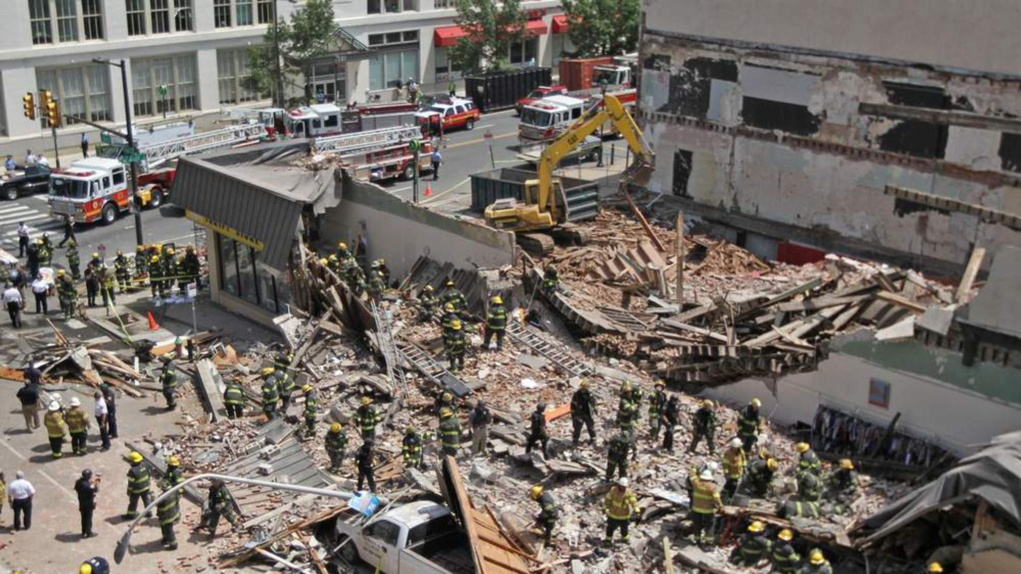 the causes of building collapse