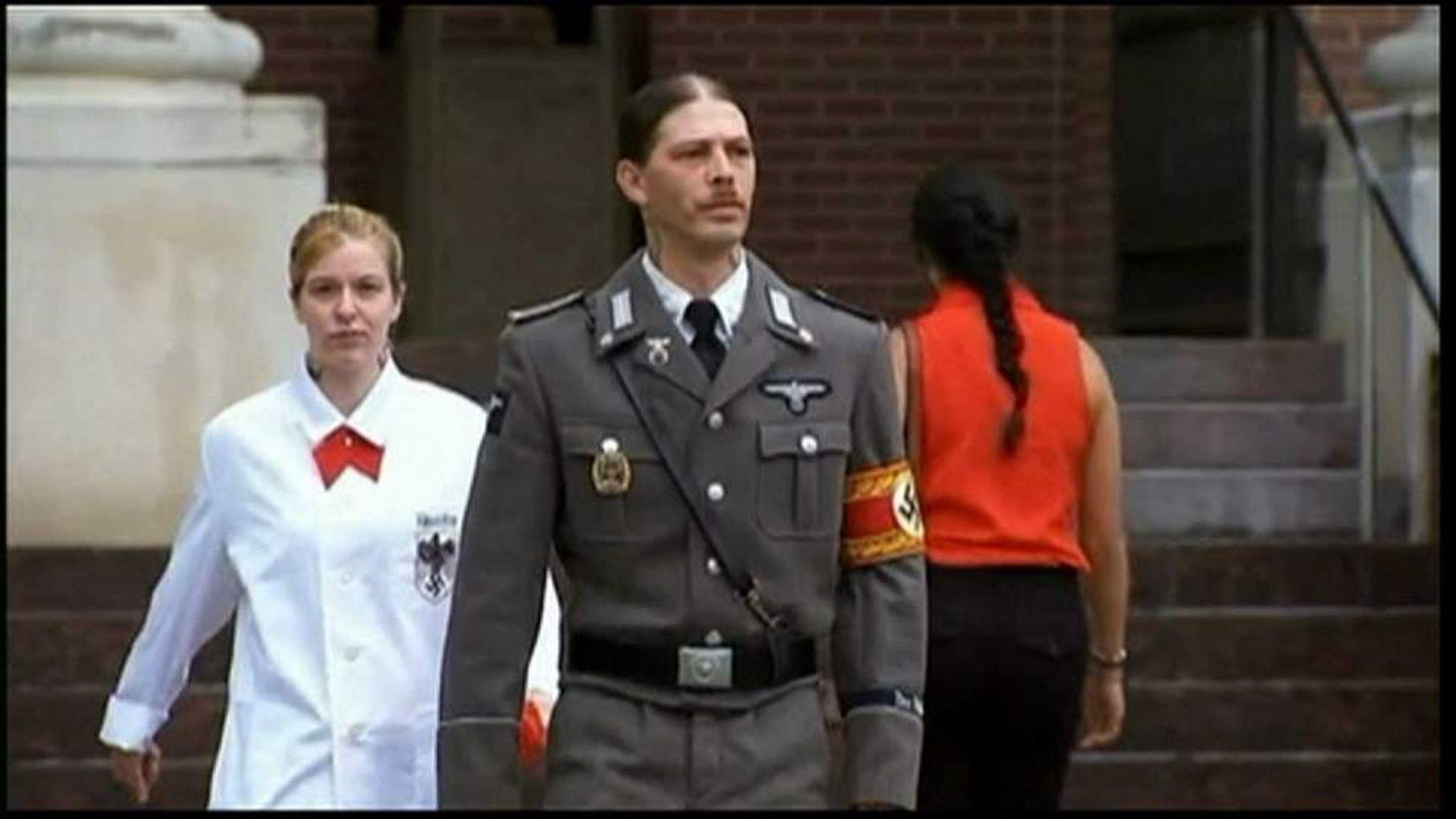 Dad Wears Nazi Uniform To Court