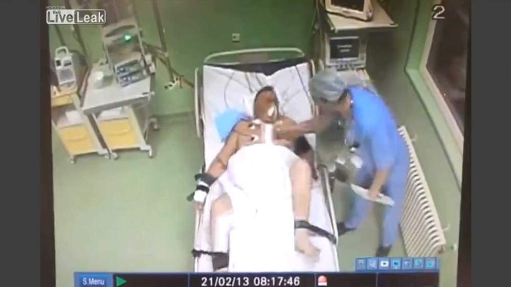 Doc Punches Heart Patient On Chest