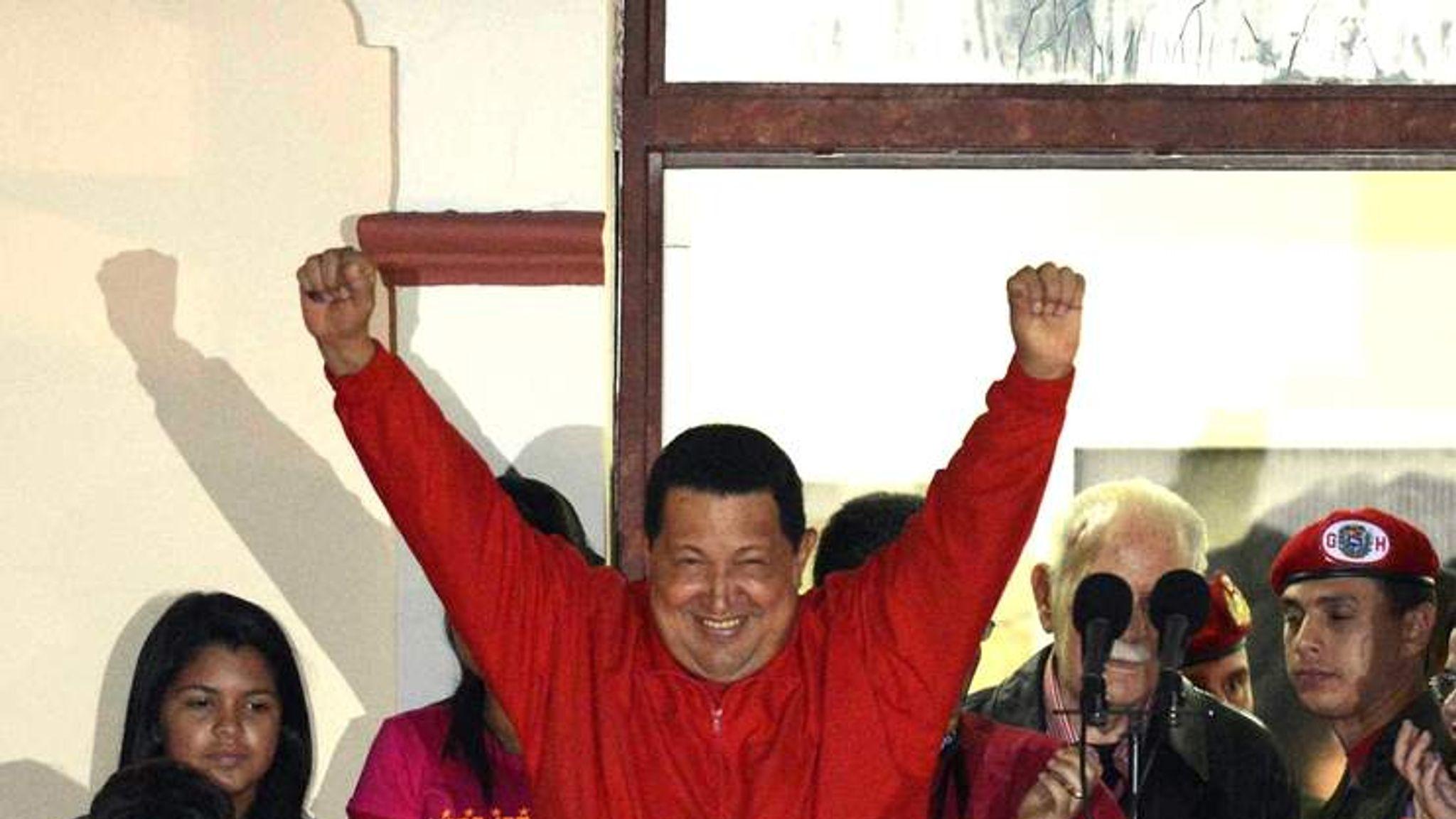 Hugo Chavez Wins Venezuela Election ...