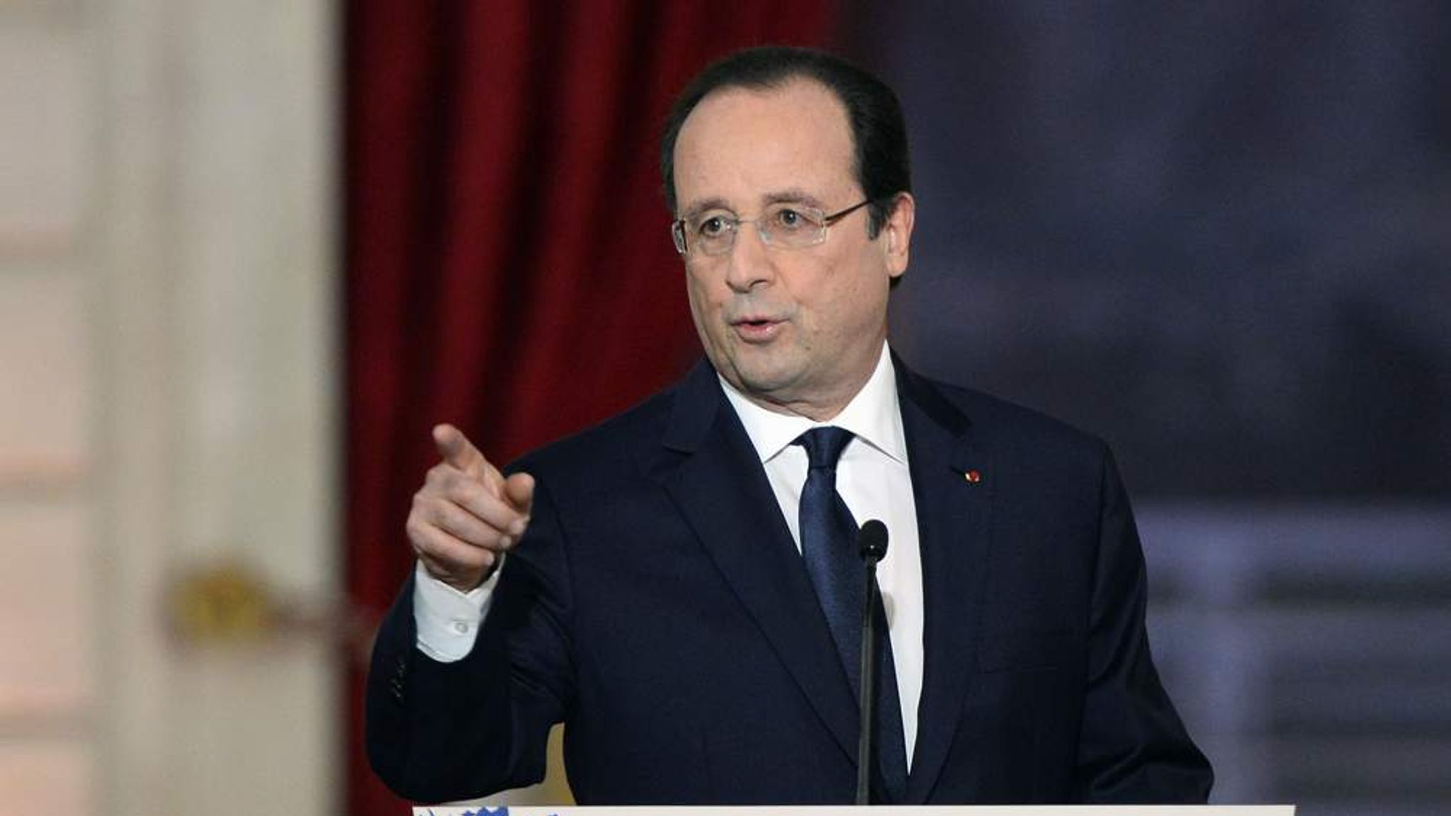 french president hollandes claims - HD1600×900