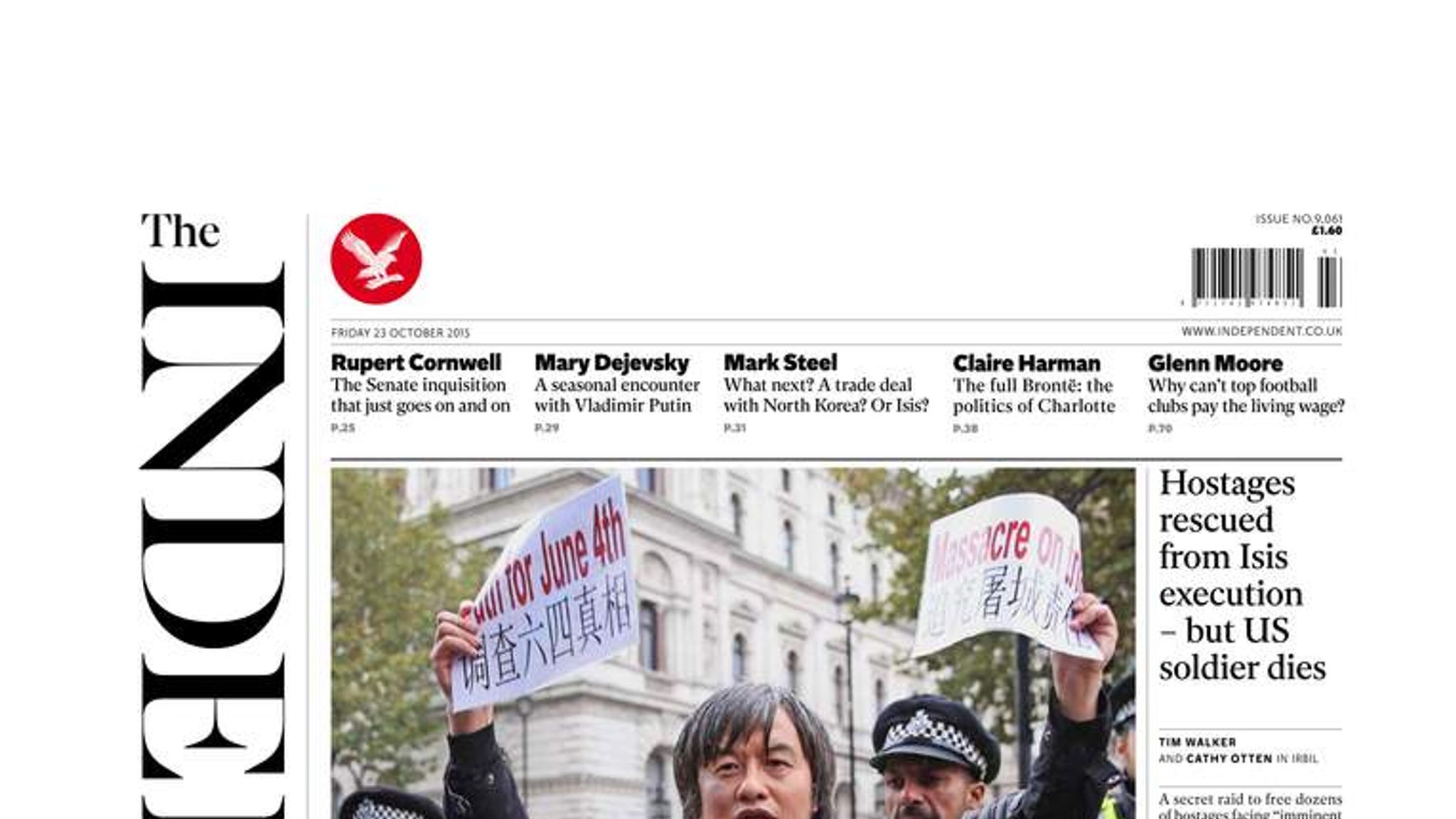 The Independent (07 October 2015)