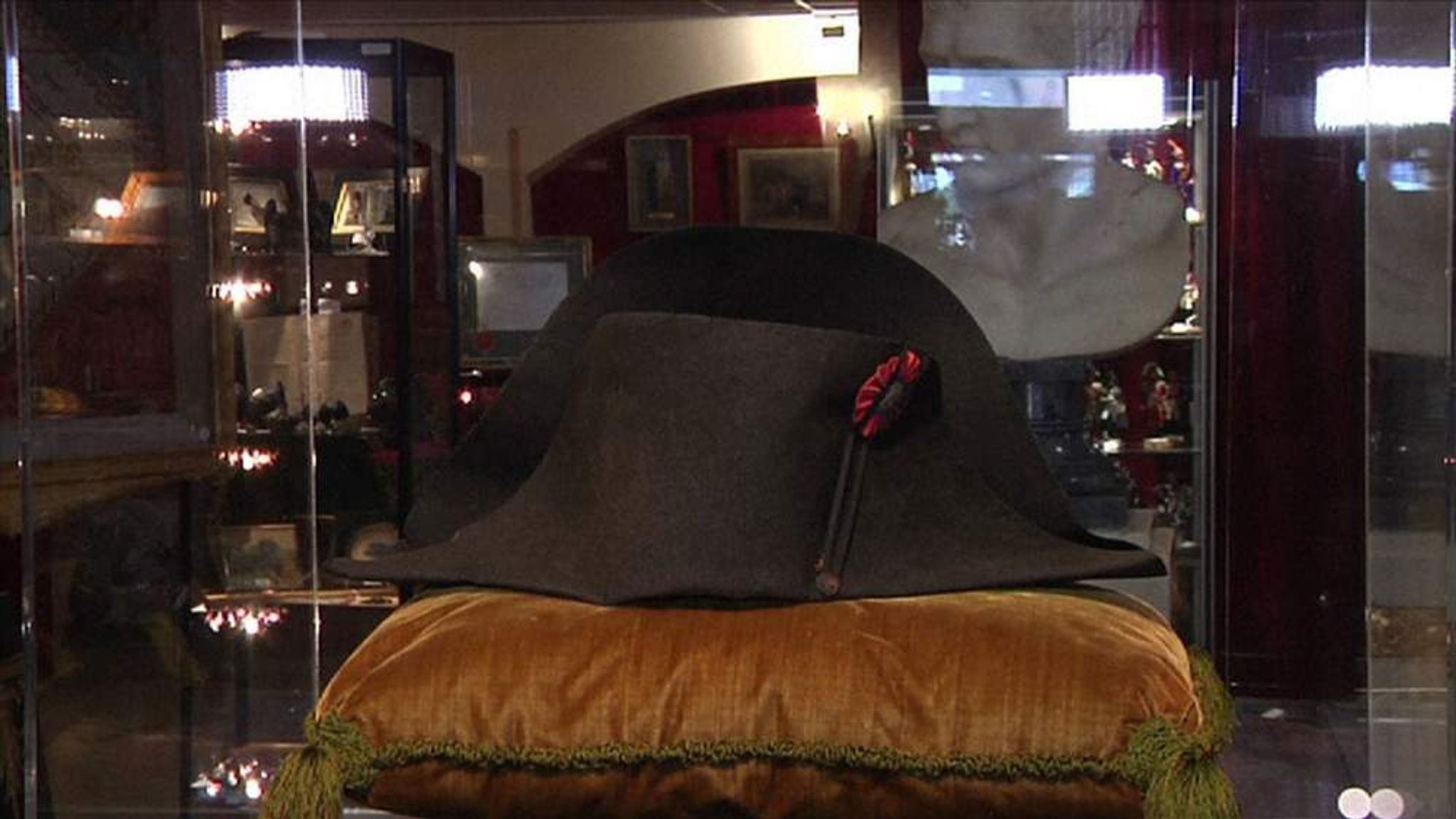 a537ecec54b Napoleon s Bloodstained Hat Sold By Prince