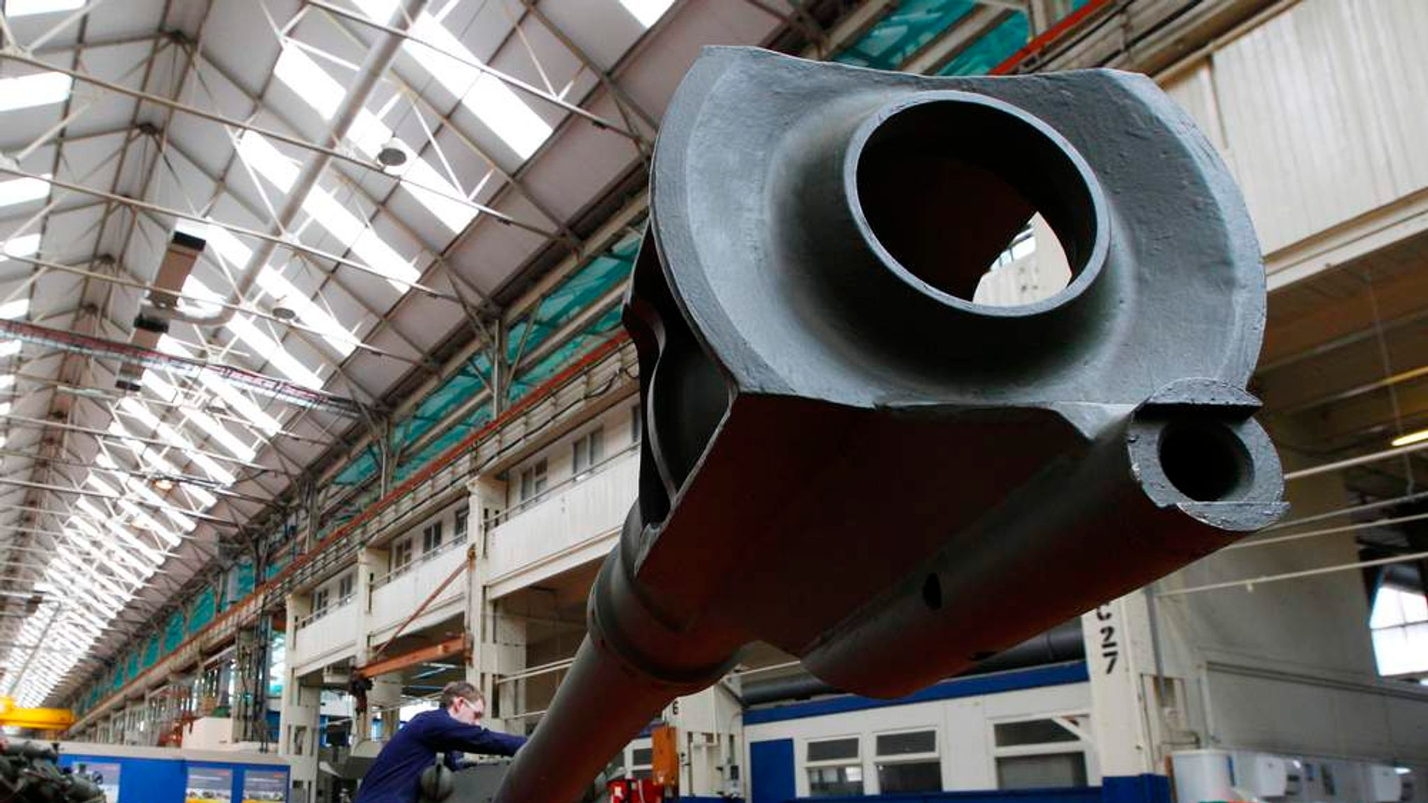 Defence Merger Under Pressure From Investors | Business News | Sky News