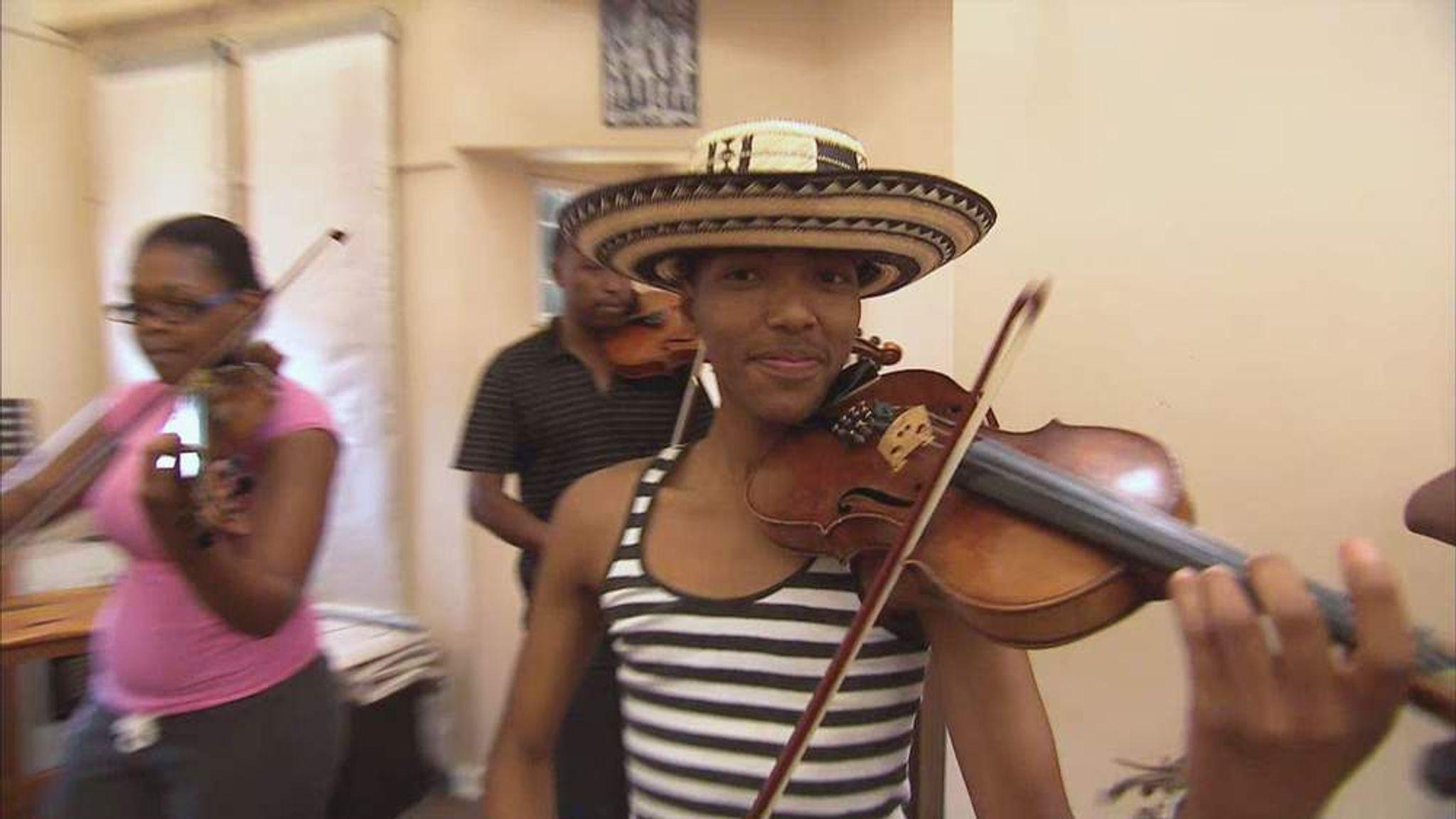 Music School Helping Soweto Children At Risk | World News | Sky News