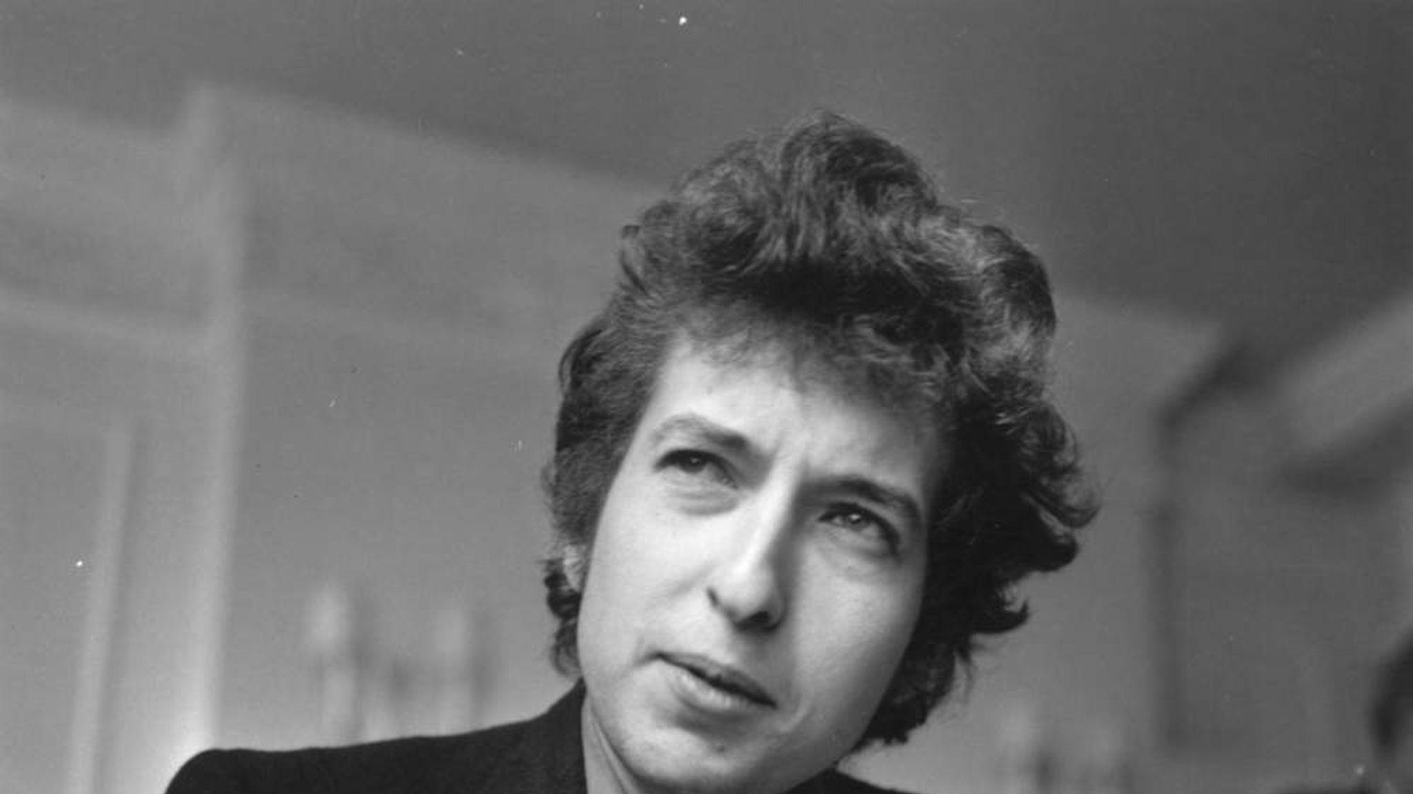 Bob Dylan Rolling Stone Draft Sells For $2m | US News | Sky News