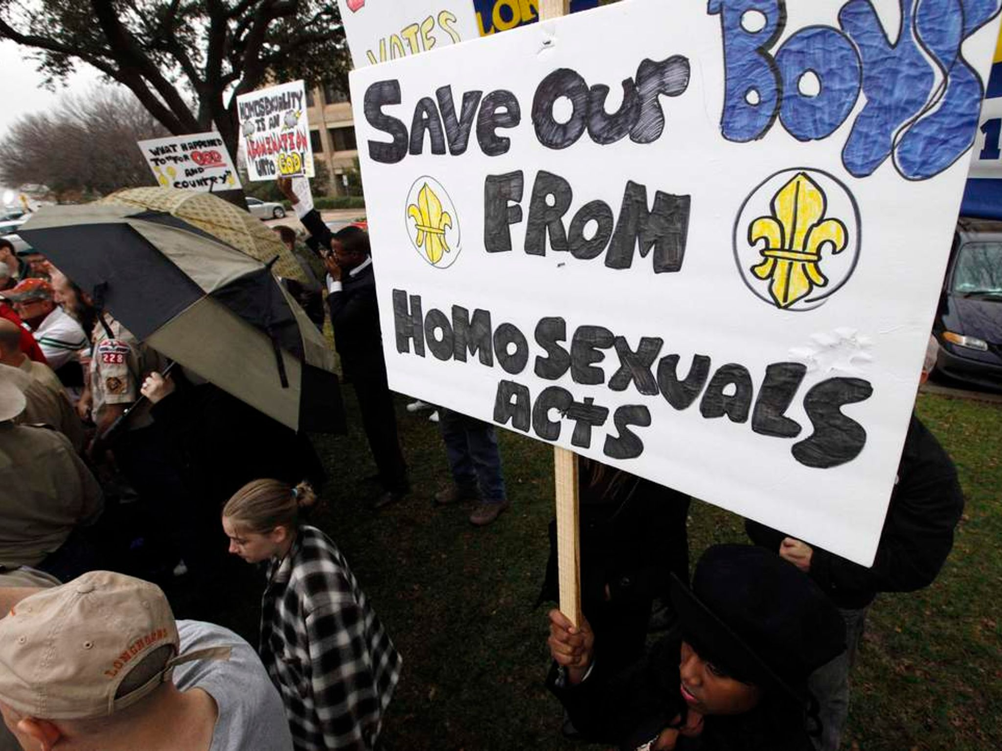 a debate whether to allow homosexuals in the military