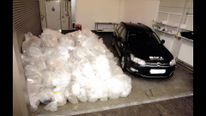 An estimated £500m worth of cocaine, found in a ship off the Scottish coast