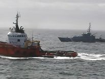 The boat was stopped by the Royal Navy in April 2015