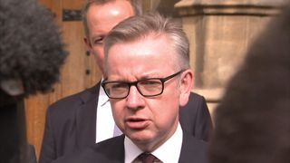 Michael Gove responds to losing in Tory leadership second round