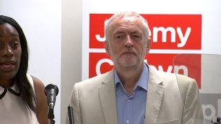 Jeremy Corbyn tells MPs to 'get on board'