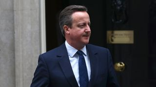 Prime Minister  David Cameron leaves Number Ten Downing Street