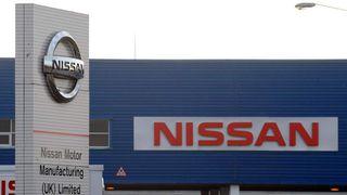 Nissan car factory