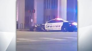An image grabbed from Facebook Live of the scene where the Dallas shootings were taking place