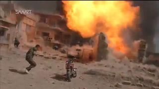 Explosion in Qamishli, Syria