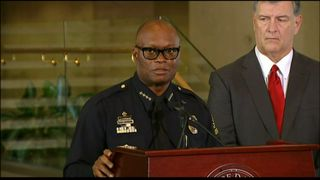 Dallas Police Chief David Brown speaks about the shooting suspect's motives