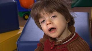 Russian orphan Misha