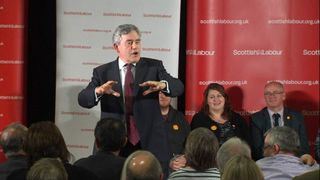Gordon Brown reveals his timetable for more powers for Scotland if voters reject independence.