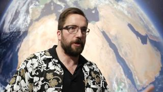 Rosetta Scientist Matt Taylor
