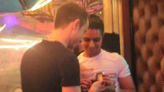 Matthew Ogston and Nazim Mahmood