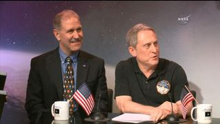 New Horizons team news conference screengrab