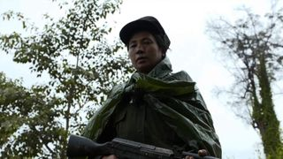 Ta'ang rebel soldiers in Myanmar Burma