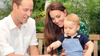 Prince George 'loves being outdoors', his grandfather says