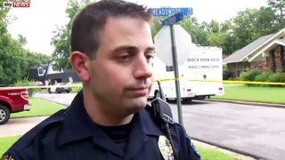 Sgt Thomas Cooper of Broken Arrow Police
