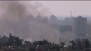Syria fighting in Damascus
