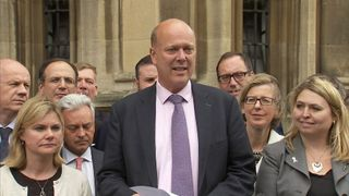 Theresa May Supporter And Leader of the House Of Commons, Chris Grayling MP