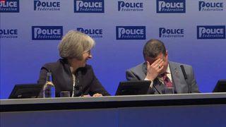 Theresa May and Steve White