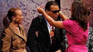 Muhammad Ali given humanitarian award