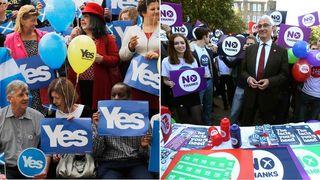 Scottish referendum composite