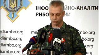Ukraine defence spokesman Andriy Lysenko