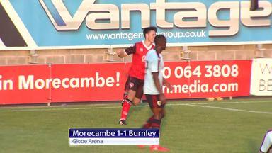 Morecambe 1-1 Burnley