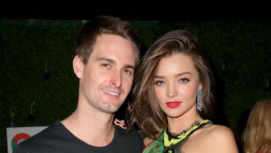Evan Spiegel and Miranda Kerr in Los Angeles